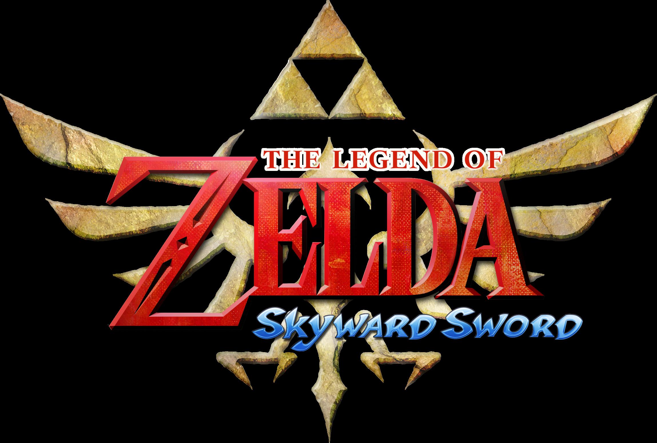 La leyenda de Zelda: Skyward Sword - Logo